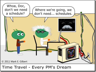 019 - Time Travel - Every PMs Dream